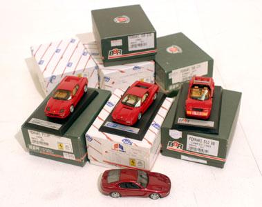 Lot 235-Quantity of BBR Ferrari Models