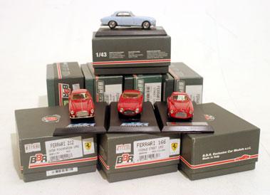 Lot 236-Quantity of BBR Ferrari Models
