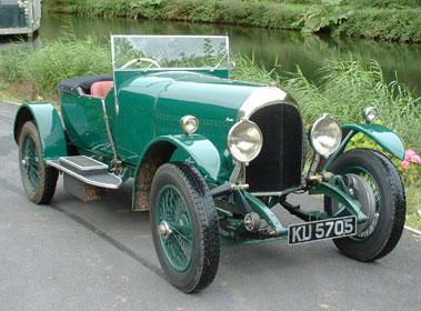 Lot 44-1925 Bentley 3 Litre Boat-Tail Tourer