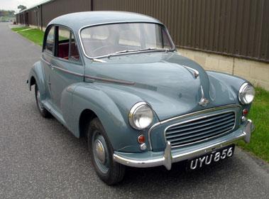 Lot 2-1958 Morris Minor 1000