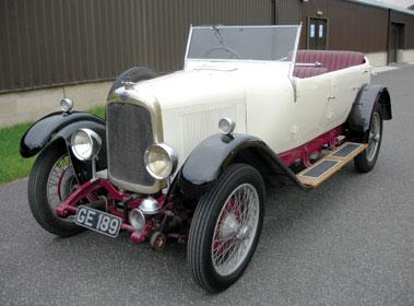 Lot 22-1928 Lagonda 2 Litre Tourer