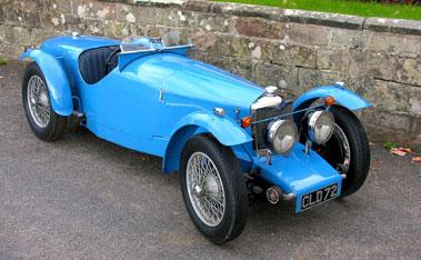 Lot 41-1935 Riley 12/4 'TT Sprite' Evocation