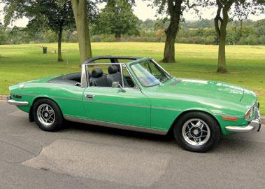 Lot 46-1977 Triumph Stag