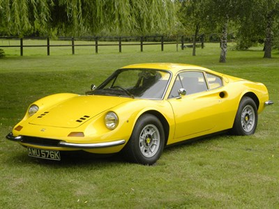 Lot 9-1972 Ferrari Dino 246 GT