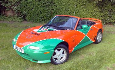 Lot 21-1991 Mazda MX-5 1.6 Le Mans