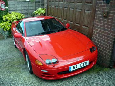 Lot 23-1998 Mitsubishi 3000 GT