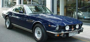 Lot 25-1981 Aston Martin V8