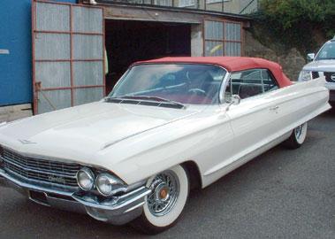 Lot 53-1962 Cadillac Series 62 de Ville Convertible