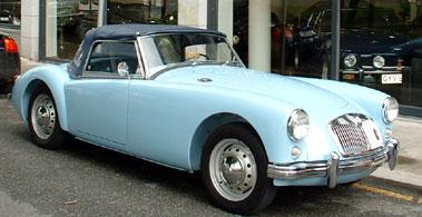 Lot 38-1958 MG A 1500 Roadster