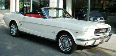 Lot 32-1966 Ford Mustang Convertible
