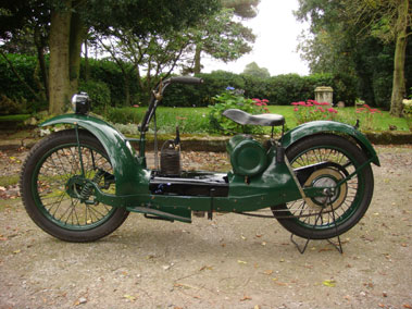 Lot 10-1924 Ner-a-Car Motorcycle