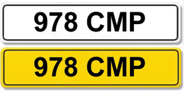 Lot 3 - Registration Number 978 CMP