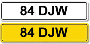 Lot 6 - Registration Number 84 DJW
