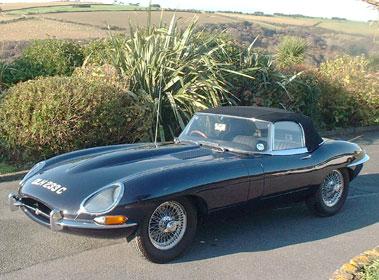 Lot 56-1965 Jaguar E-Type 4.2 Roadster