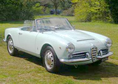 Lot 58-1964 Alfa Romeo Giulia Spider