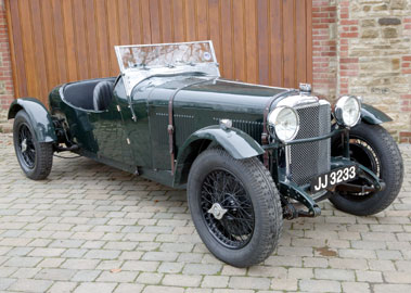 Lot 55-1932 Alvis Speed 20 SA Competition Four-Seater