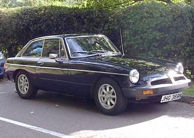 Lot 59-1975 MG B GT V8 Conversion