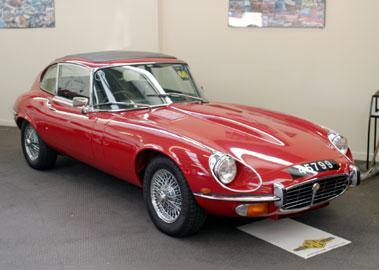 Lot 60-1973 Jaguar E-Type V12 Coupe