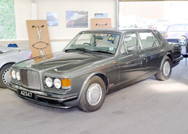 Lot 61-1990 Bentley Turbo R