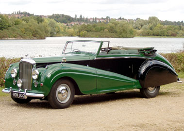 Lot 65-1952 Bentley MK VI Park Ward Drophead Coupe