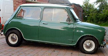 Lot 8-1968 Morris Mini Cooper MK II