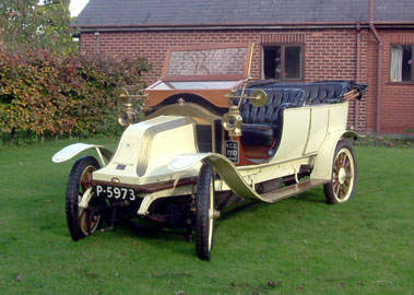 Lot 31-1910 Renault 12/16 Tourer