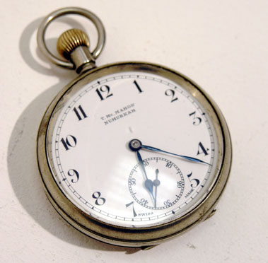 Lot 223-B.A.R.C Inscribed Stopwatch