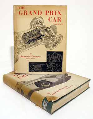Lot 116-The Grand Prix Car (Vol 1 + 2) by Laurence Pomeroy