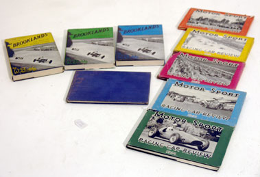 Lot 142-Nine Motor Racing Books by Grenville