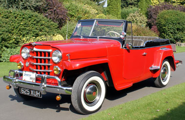 Lot 39-1950 Willys Jeepster