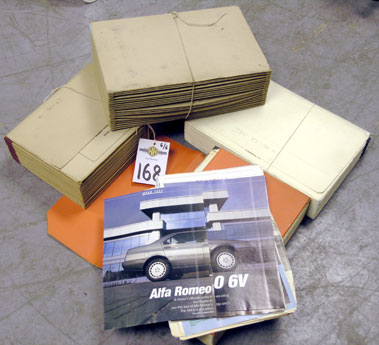 Lot 168-An Archive of Road Test Reports*