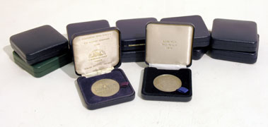 Lot 226-Twelve RAC Lombard Rally Finisher's Medals