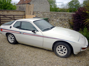 Lot 41-1977 Porsche 924 Martini Edition