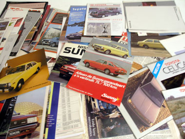Lot 129-Quantity of Japanese Sales Brochures