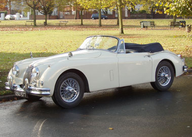 Lot 26-1958 Jaguar XK150 3.4 Litre Drophead Coupe