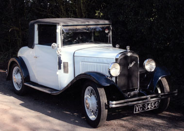 Lot 27-1933 Austin 12/4 Light Drophead Coupe