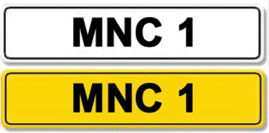 Lot 4-Registration Number MNC 1