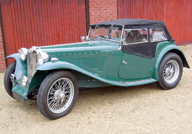 Lot 45-1949 MG TC