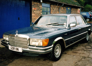 Lot 57-1975 Mercedes-Benz 450 SEL