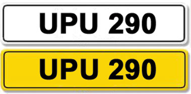 Lot 2-Registration Number UPU 290