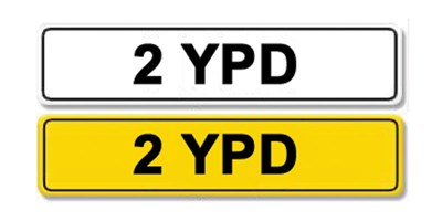 Lot 3-Registration Number 2 YPD