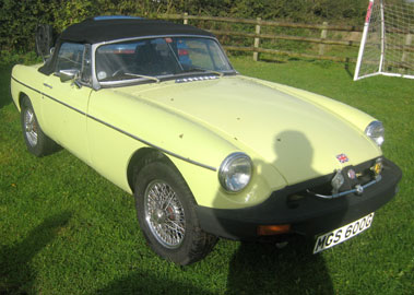 Lot 68-1977 MG B Roadster
