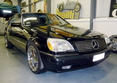 Lot 70-1997 Mercedes-Benz S 600
