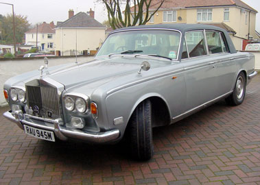 Lot 73-1973 Rolls-Royce Silver Shadow