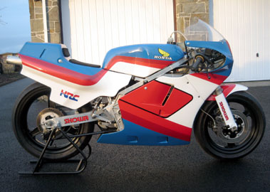 Lot 33-1984 Honda RS250