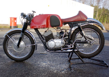 Lot 22-1960 Yamaha YDS2R