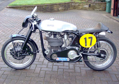 Lot 25-2002 Norton Manx 30M Replica