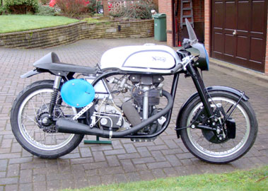 Lot 13-1998 Norton Manx 40M Replica