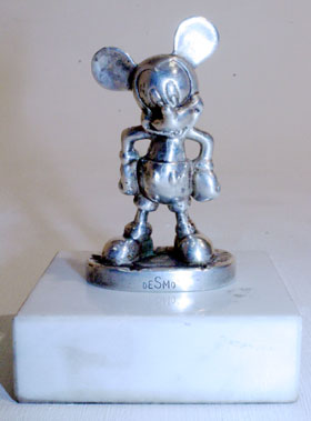 Lot 309-Mickey Mouse Accessory Mascot