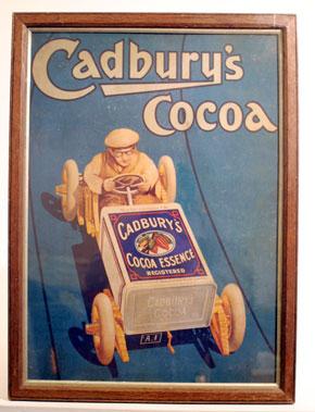 Lot 501-Reproduction Cadbury's Showcard
